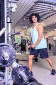 Gym time — Stock Photo