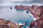 Mare e rocce su Ponta do Bode — Foto Stock