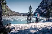 Pragser Wildsee — Stock Photo