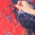 Female painter — Stock Photo #71434923
