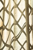 Lattice window — Stock Photo