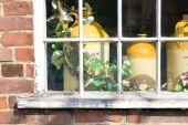 复古花盆 — 图库照片