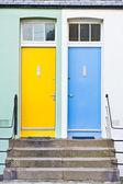 Передние двери — Стоковое фото