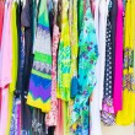 Clothes rack — Stock Photo #61729059