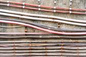 Elektrische kabels — Stok fotoğraf