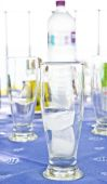 Ice in a glass — Stock Photo