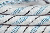 Stripey material — Stock Photo