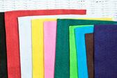 Colorful felt — Foto de Stock