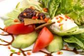 Vegan vegetable salad — Stockfoto