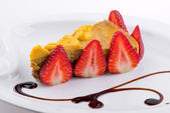 Torta vegana — Foto Stock