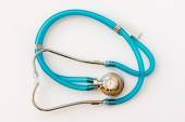 Expensive health treatment.  Stethoscope on money background — Стоковое фото