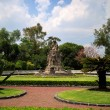 Chapultepec Castle Garden — Stock Photo #75050973