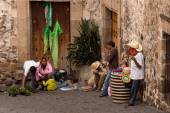 Taxco Street Peddlers — Stock Photo