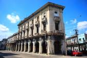 Old cuban building — Stock Photo