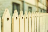 Retro wooden fence — Stock fotografie