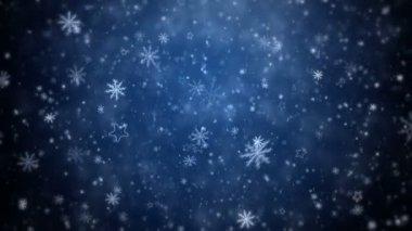 Winter Christmas background — Vídeo de Stock
