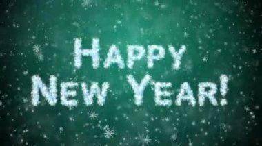 Inscription Happy New Year — Stock Video