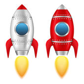 Rockets — Stock Vector