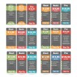 Pricing Table — Stock Vector #78976332