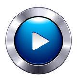 Play Button App Icon — Stock Vector