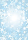 Snowfall Background — Stock Vector