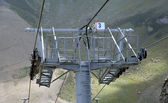 Detail of a chairlift mechanism — Stock Photo