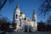 Saviour-Transfiguration Cathedral of Chernihiv — Stock Photo