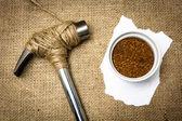Save the coffee — Zdjęcie stockowe