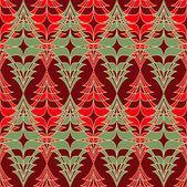 クリスマス ツリー。クリスマスの背景の抽象的なベクトル イラスト — ストックベクタ