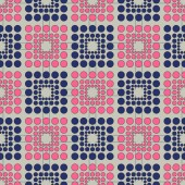 Abstract vector background pattern of ovals — Vettoriale Stock