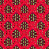 Christmas balls. Seamless abstract vector illustration backgroun — Stock Vector