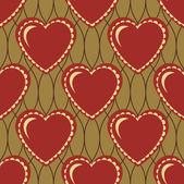 Valentýna bezešvé pozadí abstraktní vektorová ilustrace — Stock vektor
