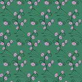 Blommig sömlös abstrakt vektor illustration — Stockvektor