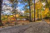 Colorful fall scenery landscapes. — Stock Photo
