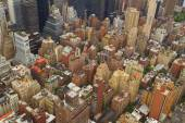Aerial views of New York City, USA — Stock Photo