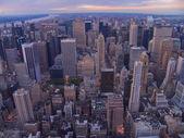 Aerial vews of New York City, USA — Stock Photo