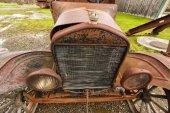 Oude klassieke auto — Stockfoto