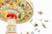 Colorful merry-go-round. — Stock Photo