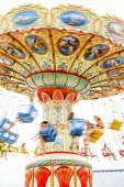 Colorful merry-go-round. — Stock Photo