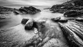 Kayalık sahil. — Stok fotoğraf