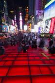 New York City at night. — Stock Photo