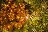 Decorations on Christmas Tree. — Stock Photo