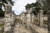 Chichen Itza Maya harabelerini — Stok fotoğraf