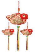 Auspicious Fish Ornaments — Stock Photo