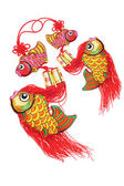 Auspicious Fish Ornaments — Stock Photo