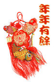 Auspicious Fish Ornaments  — ストック写真