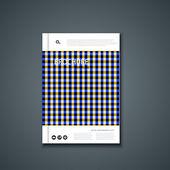 векторный летчик или баннер. дизайн шаблона брошюры. — Cтоковый вектор