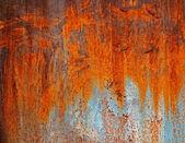 Textura de metal oxidado viejo — Foto de Stock