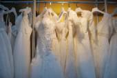 美丽的婚纱礼服 — Stockfoto