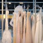 A few beautiful wedding dresses — Stock Photo #57404755